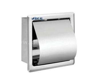 6354 Distributeur de papiers toilettes simple (sous enduit)